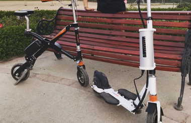 Portable electric bicycle Airwheel E6