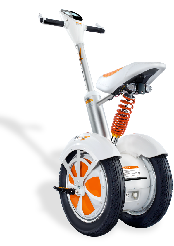 two wheel self-balancing scooter