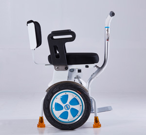 Airwheel folding self-balancing wheelchair
