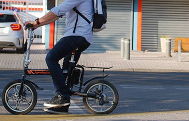 Airwheel R5 Quality electric assist bike in Chile.