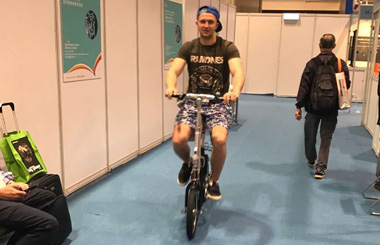 Airwheel R5 smart electric folding bike Airwheel R5